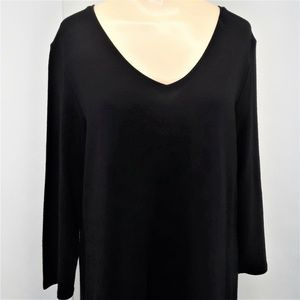 Eileen Fisher Knit Dress Size Medium Long Sleeve